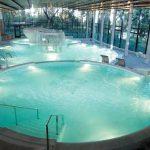 Panorámica del Aquatònic del Hotel Termes de Montbrió