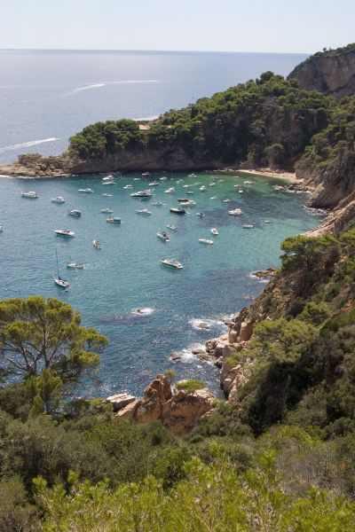 Cala Futadera Tossa de Mar en la Costa Brava