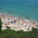 Playa de Calella en el Maresme