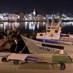 Panorámica de noche del Puerto de Cambrils