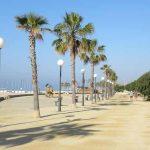 Paseo marítimo de Canet de Mar en la Costa del Maresme