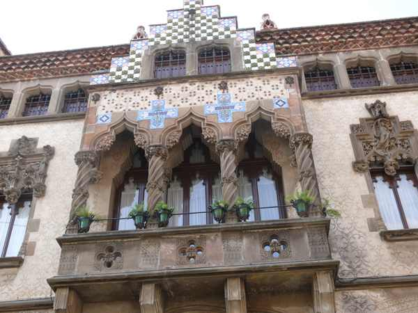 Casa Coll i Regàs en Mataró