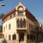 Casa museu Domènech i Montaner en Canet de Mar
