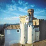 Castelldefels, Castillo de blanco