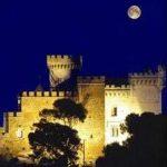 Castelldefels, Castillo de noche