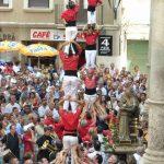 Castellers en el Vendrell