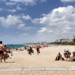 Costa del Maresme playa de Malgrat de Mar
