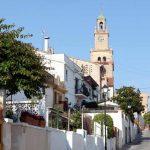 Calle de El Masnou, dirección a la Iglesia Mayor