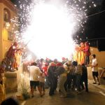 Fiesta Mayor en Malgrat de Mar, Costa del Maresme