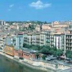Girona, Panorámica casco antiguo