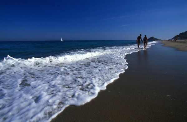 Playa El Torn cerca de Vandellòs