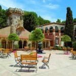 Exteriores del Hotel Balneario Termes de Montbrió (Costa Daurada)