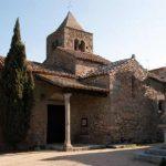 Iglesia de Sant Martí de Romanyà en Santa Cristina d'Aro