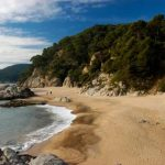 Playa la Boadella en Lloret de Mar