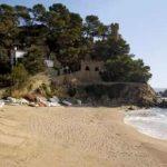 Playa Sa Caleta en Lloret de Mar