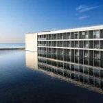 Panorámica exterior de Le Meridien Ra Beach Hotel & Spa en el Vendrell (Costa Daurada)