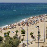 Paseo Marítimo de Malgrat de Mar, en la Costa del Maresme