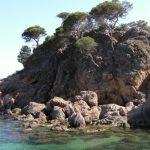 Cala de Cap Roig en Platja d'Aro