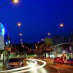 Calle principal y comercial de Platja d'Aro