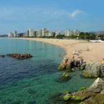 Playa grande de Platja d'Aro