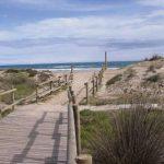 Playa de Muntanyans en Torredembarra, Costa Daurada