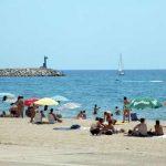 Vista de la playa de Cambrils