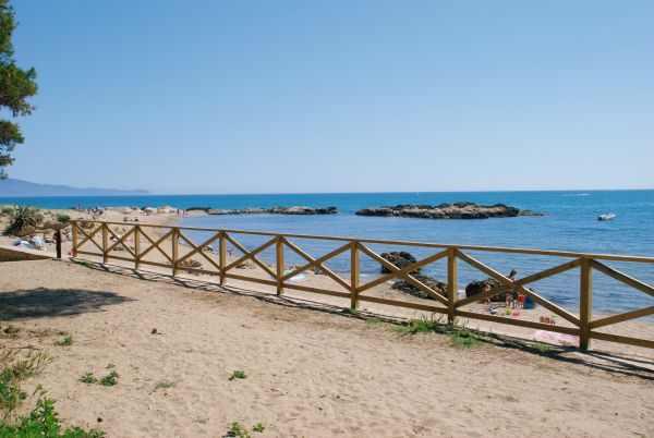 Playas de Sant Martí d'Empúries en la Costa Brava