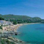 Playa de l'Almadrava en Roses, Costa Brava