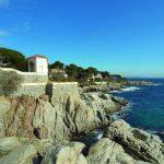 Vista de la costa de S'Agaró