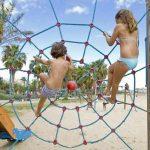 Salou, juegos en Playa Llevant