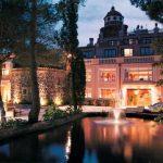 Jardines del Hotel Balneario Termes de Montbrió
