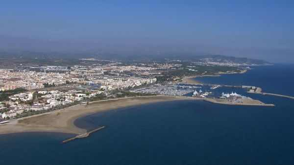Vista aérea de Vilanova i la Geltrú