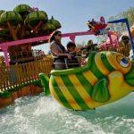 Atracción para niños de Port Aventura en SésamoAventura: Magic Fish