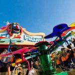 Atracción para niños de Port Aventura en SésamoAventura: Mariposas Saltarinas
