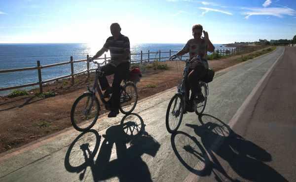 Ruta en bicicleta en por El Delta del Ebro