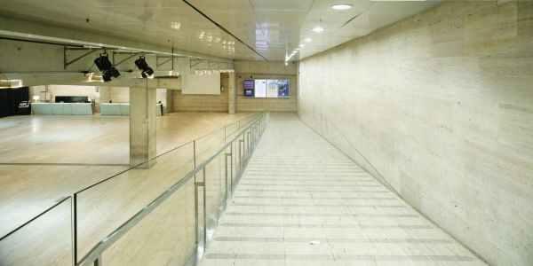 vestbolo del centro de cultura de barcelona