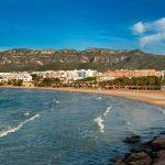Playa cerca del Delta Ebro