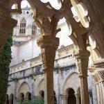 Monasterio de Poblet, detalle claustro