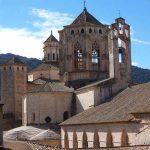 Vista panorámica del Monasterio de Poblet