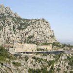 Vista de Montserrat desde la Ermita de Sant Miquel