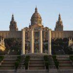 Vista exterior del MNAC en Barcelona
