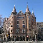 Casa de les Punxes en Barcelona