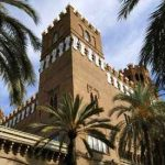 El Castell dels tres Dracs en Barcelona