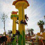 Área temática de Port Aventura SésamoAventura, Atracción El Salto del Blas