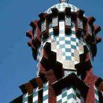 Exterior de la Casa Vicens de Gaudí, Barcelona