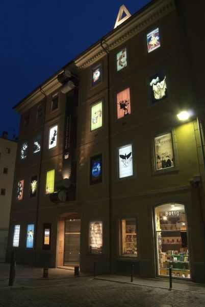 Fachada del Museo del cine de Girona