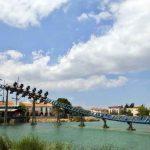 Área temática de la Mediterrània de Port Aventura,Atracción Furius Baco