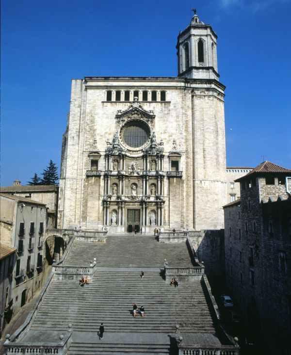 Escalinatas de la Catedral de Girona (Costa Brava)