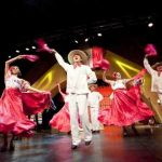 Área temática México de Port Aventura (Salou), Espectáculo Jarana Mexicana