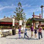 Área temática de China en Port Aventura, Gran Plaza Imperial